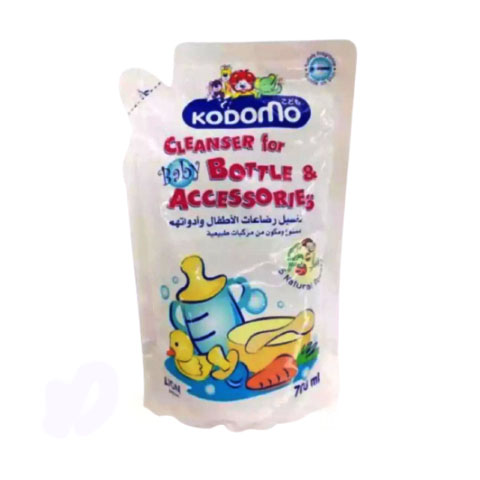 Kodomo-Bottle & Accessories Cleanser (Refill) 700 ml