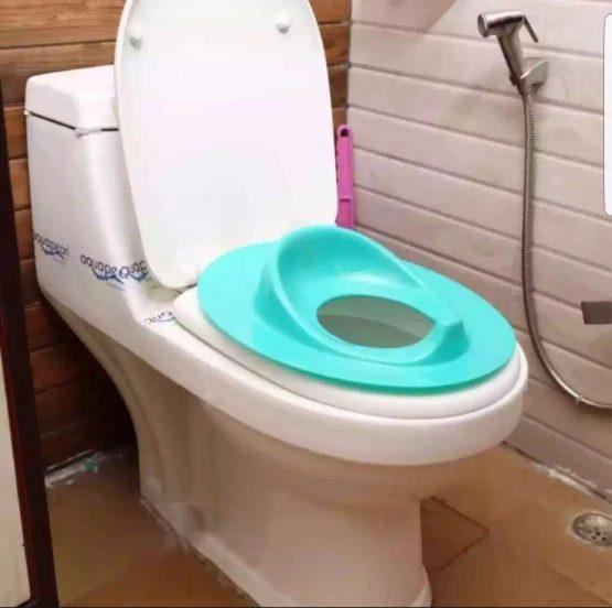 Farlin Baby Toilet Seat -Paste color