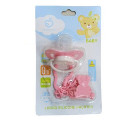 Lebay Pacifier With Chain 0+ Baby (Multicolor)