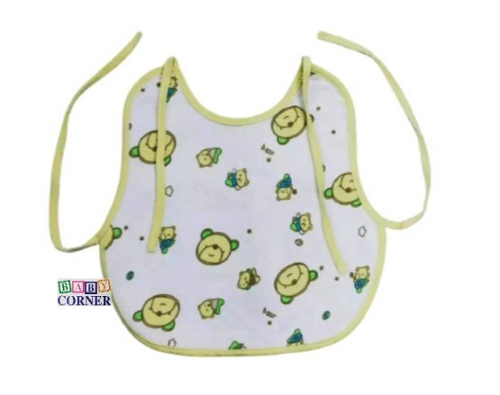 Cotton Bib for kids-Multicolor(11 X12 inch ) – 1Pcs
