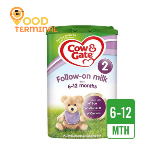 Cow & Gate Follow-On Milk 2 from 6-12 Months(UK) – 800g