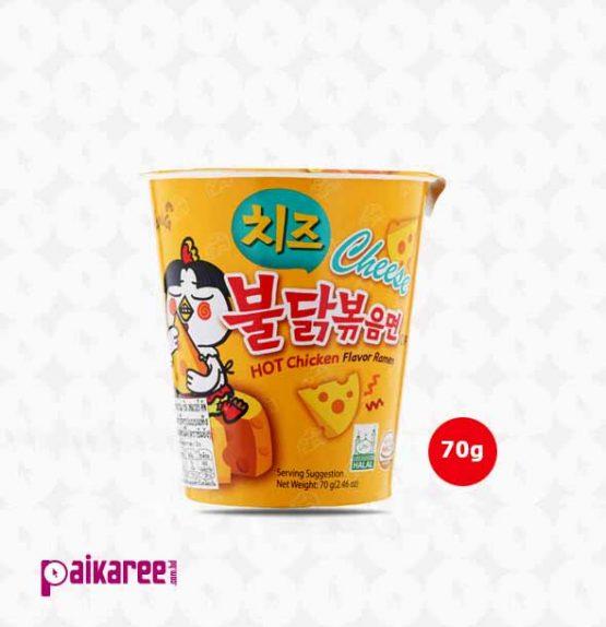 Samyang Hot Chicken Cheese Ramen Noodles Cup – 70g (Korea)