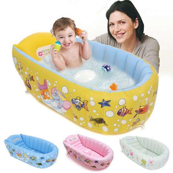 Baby Bath Tub With Pumper (90X55X25 cm)