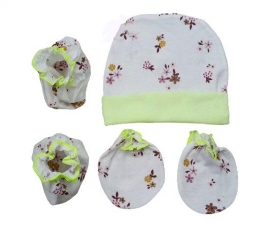 Baby Hat,Gloves & shoe Multicolor (0-6 Months) Thailand