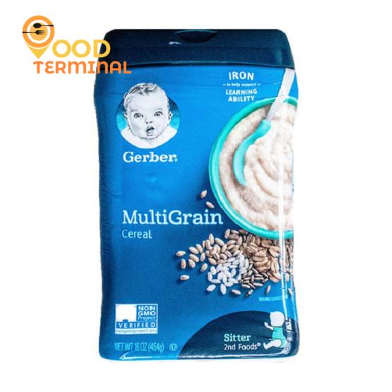 Gerber MultiGrain Cereal – 454g