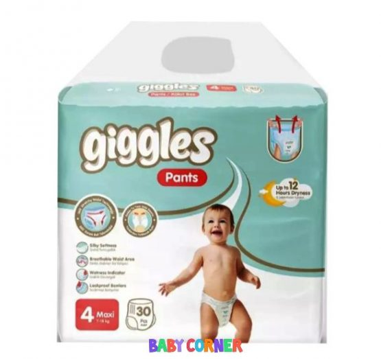 Giggles Baby Pants Diaper Maxi (7-18 kg) 30 pcs(Turkey)