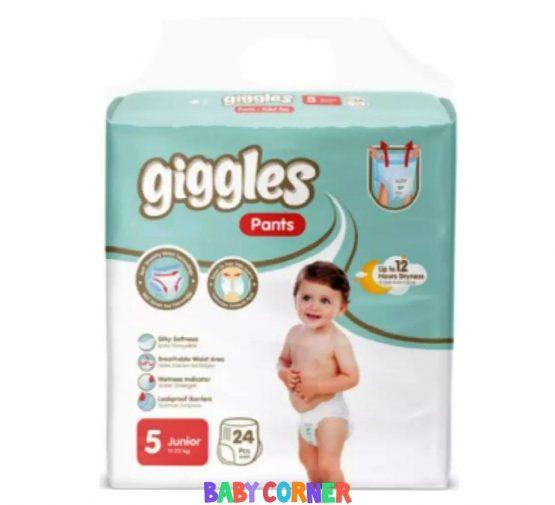 Giggles Baby Pants Diaper Junior (11-25 kg) 24 pcs(Turkey)