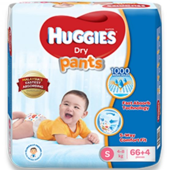 Huggies Dry Pants Small (4-8 kg)
