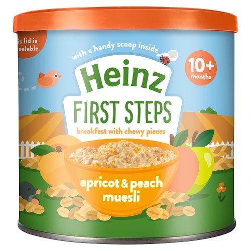 Heinz First Steps Apricot & Peach Muesli