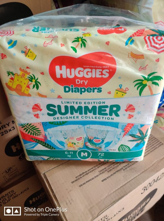 Huggies_Dry Pant Summer Limited Edition Baby Diaper M