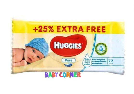 Huggies Baby wet wipes 72 pcs + 18 pcs free = 90 pcs (Singapore)