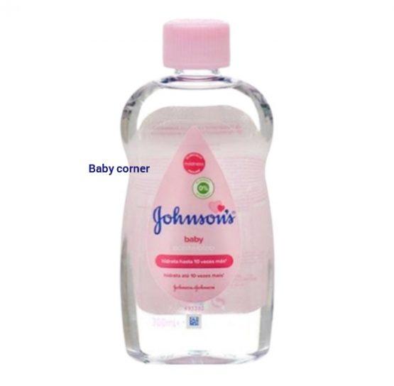 Johnson's Baby Oil 300 ml (made in EU)