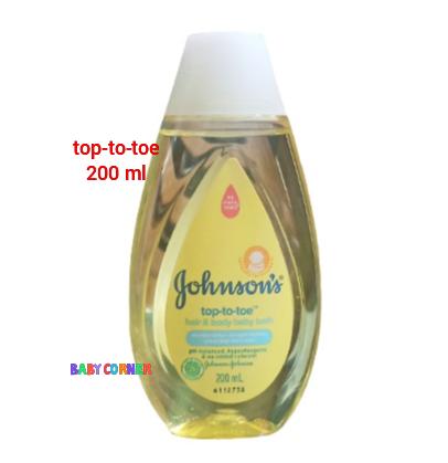 Johnson's Baby top-to-toe hair & body baby Bath 200 ml (Malaysia)