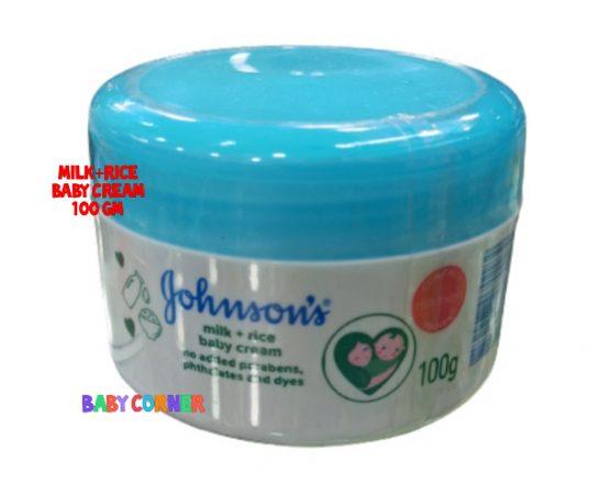 Johnson's Baby Milk Rice cream 100 gm (Thailand)
