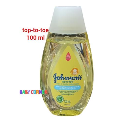 Johnson's Baby top-to-toe Bath 100 ml (Malaysia)