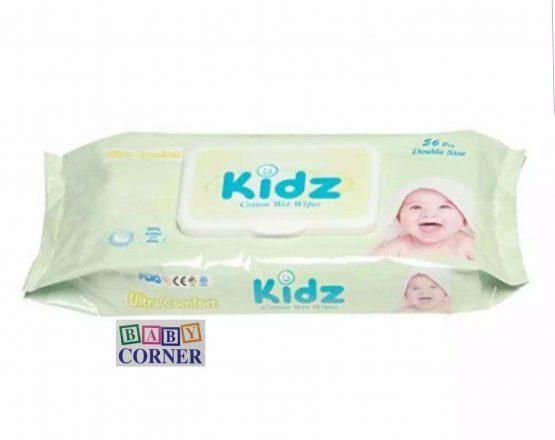 Kidz cotton Wet wipes 56 pcs