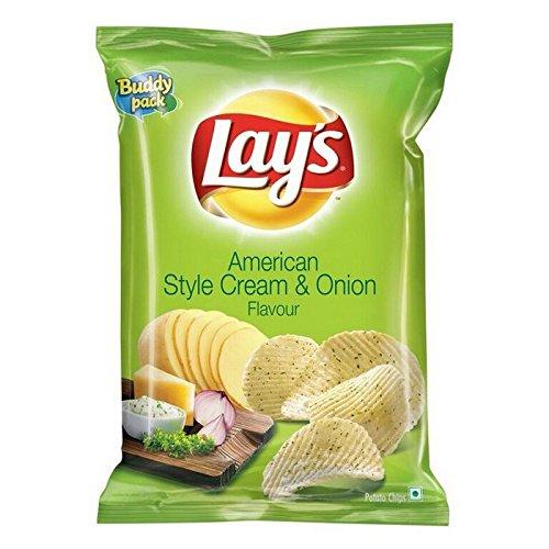 Lay's Cream & onion Chips 52g