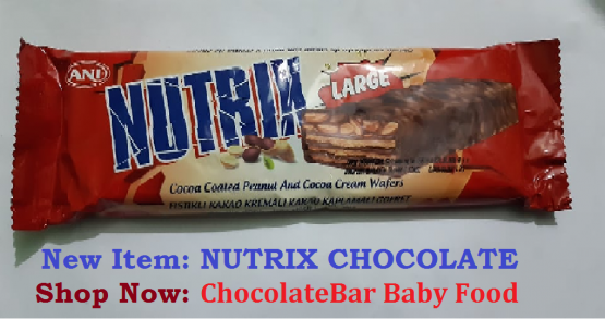 Nutrix Milky Cocoa Coated Wafers With Peanuts 60gm