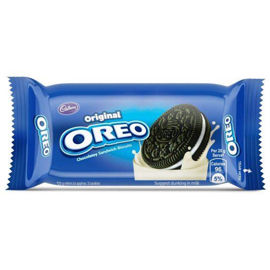 Oreo-Vanilla Cream Chocolate Biscuit,(Pack of 12) 46.3g each
