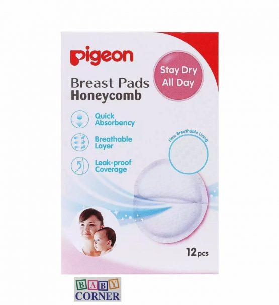 Pigeon Breast Pad Honeycomb for Breastfeeding woman (12 pcs)