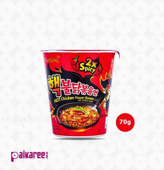 Samyang Extreme Hot Chicken Ramen Noodles Cup – 70g (Korea)