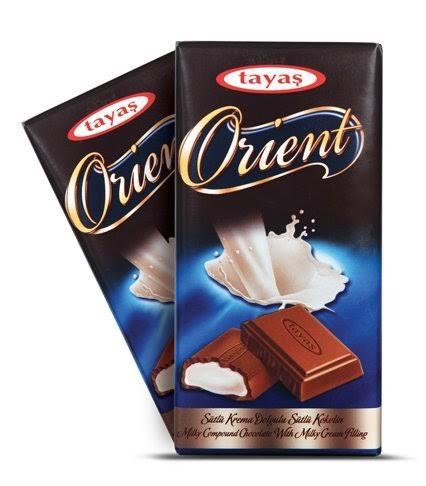 Tayas Orient Milky chocolate 80 gm
