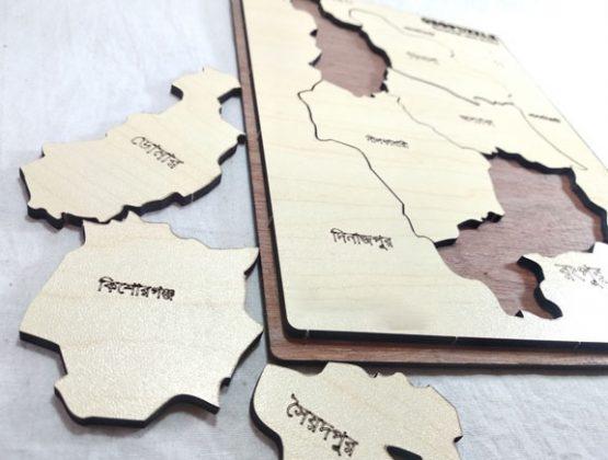 Nilphamari Zilla Map