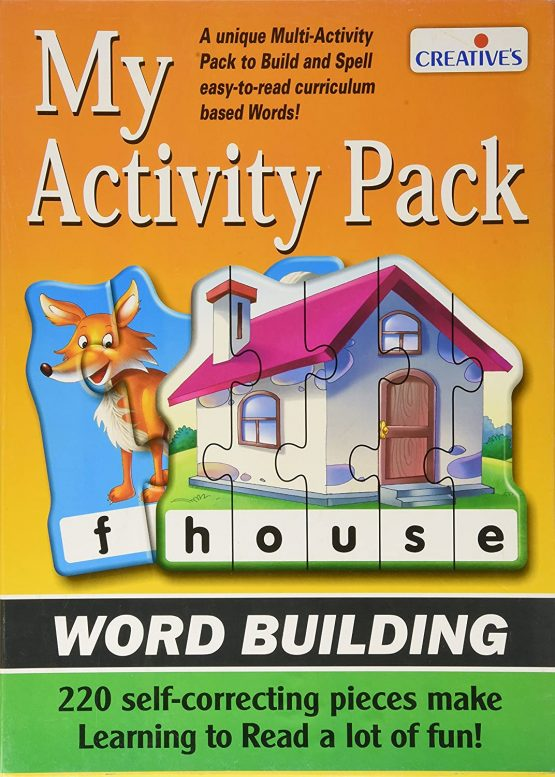 MY ACTIVITY PACK (WORD BUILDING)