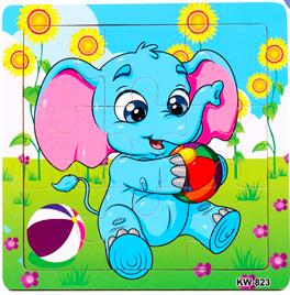 15cm 9part Elephant