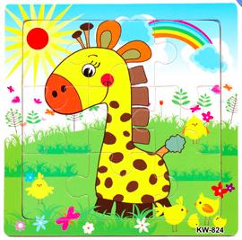 15cm 9part Giraffe