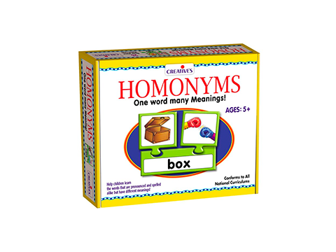 PUZZLE: HOMONYMS