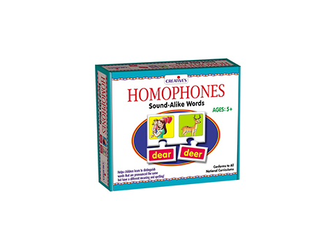 PUZZLE: HOMOPHONES