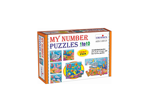 My Number Puzzle 1 to 10